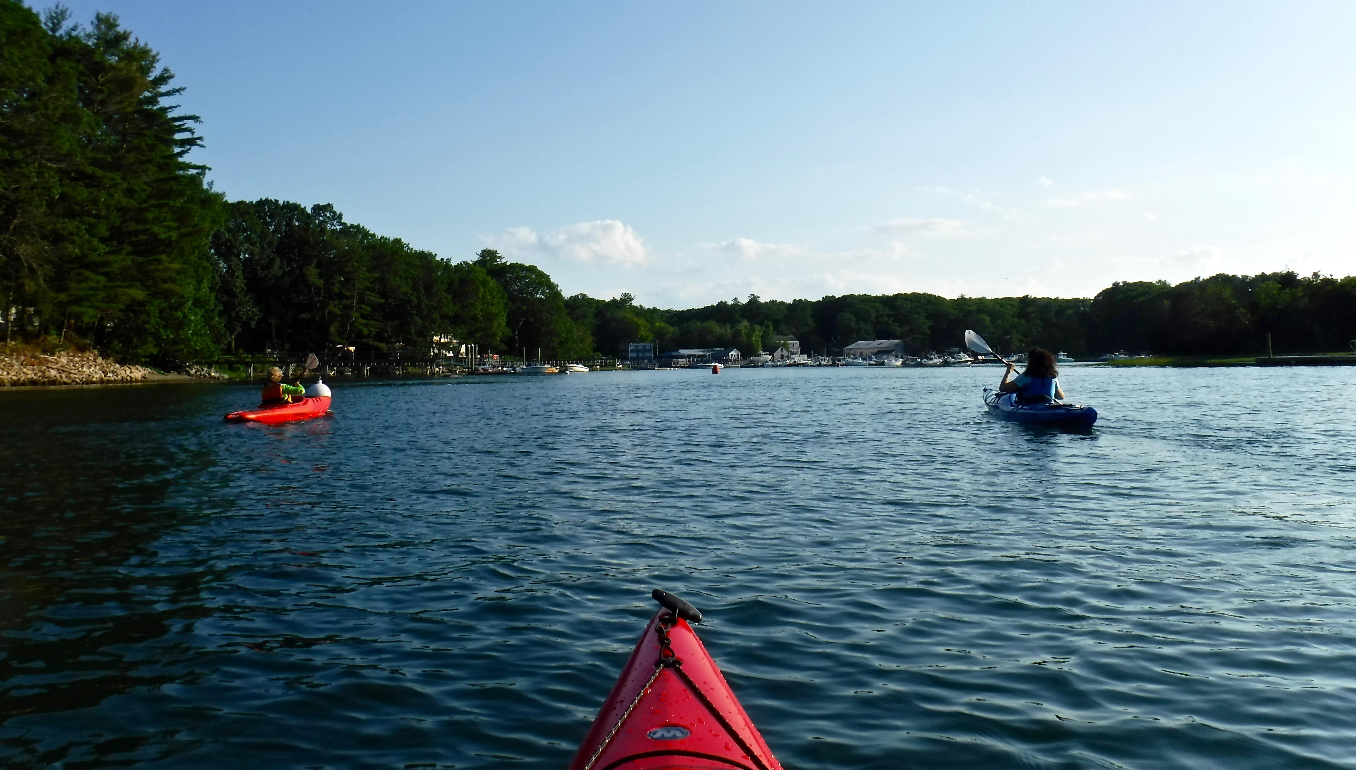 Kayaking-Sagamore-Creek-BG's-Boathouse