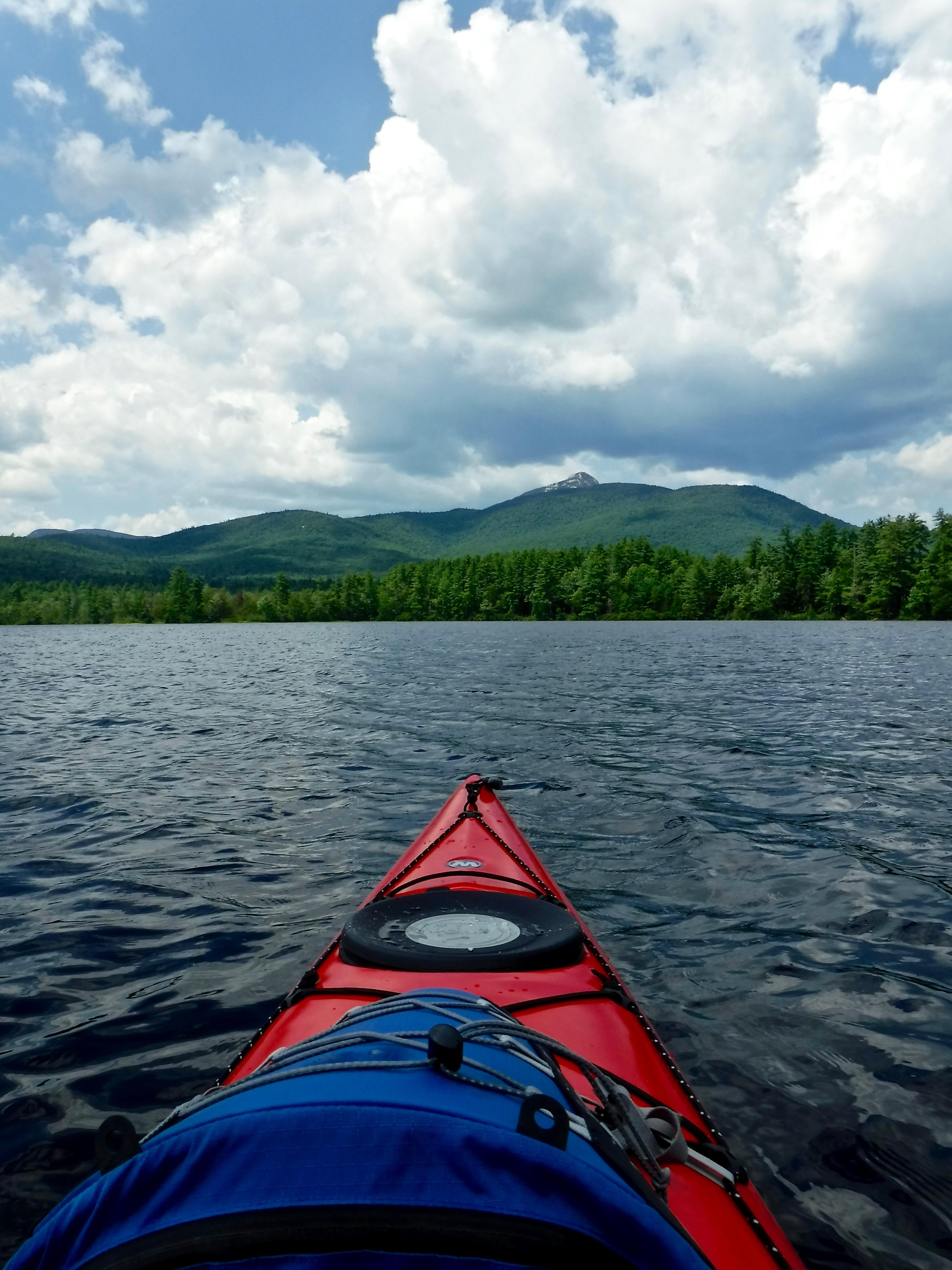 kayaking-chocorua-lake-tamworth-nh