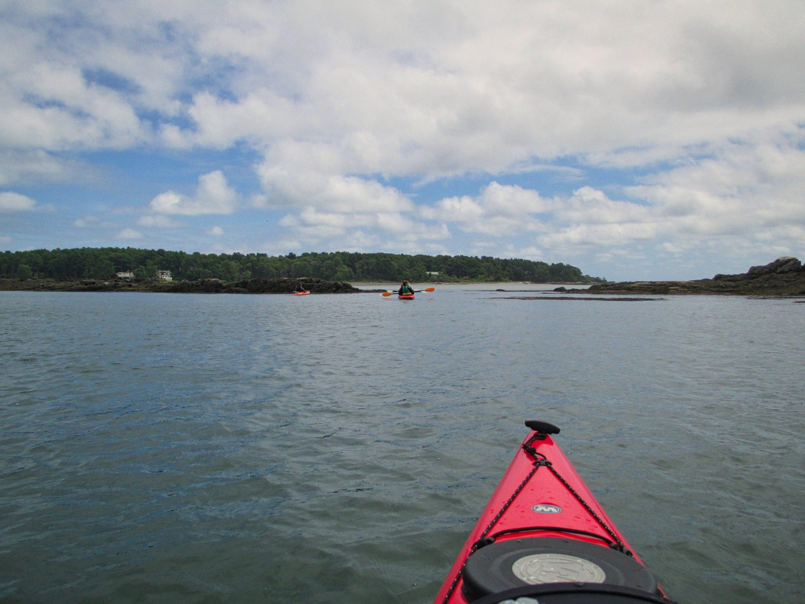 Kayaking-Pepperell-Cove-Kittery-ME