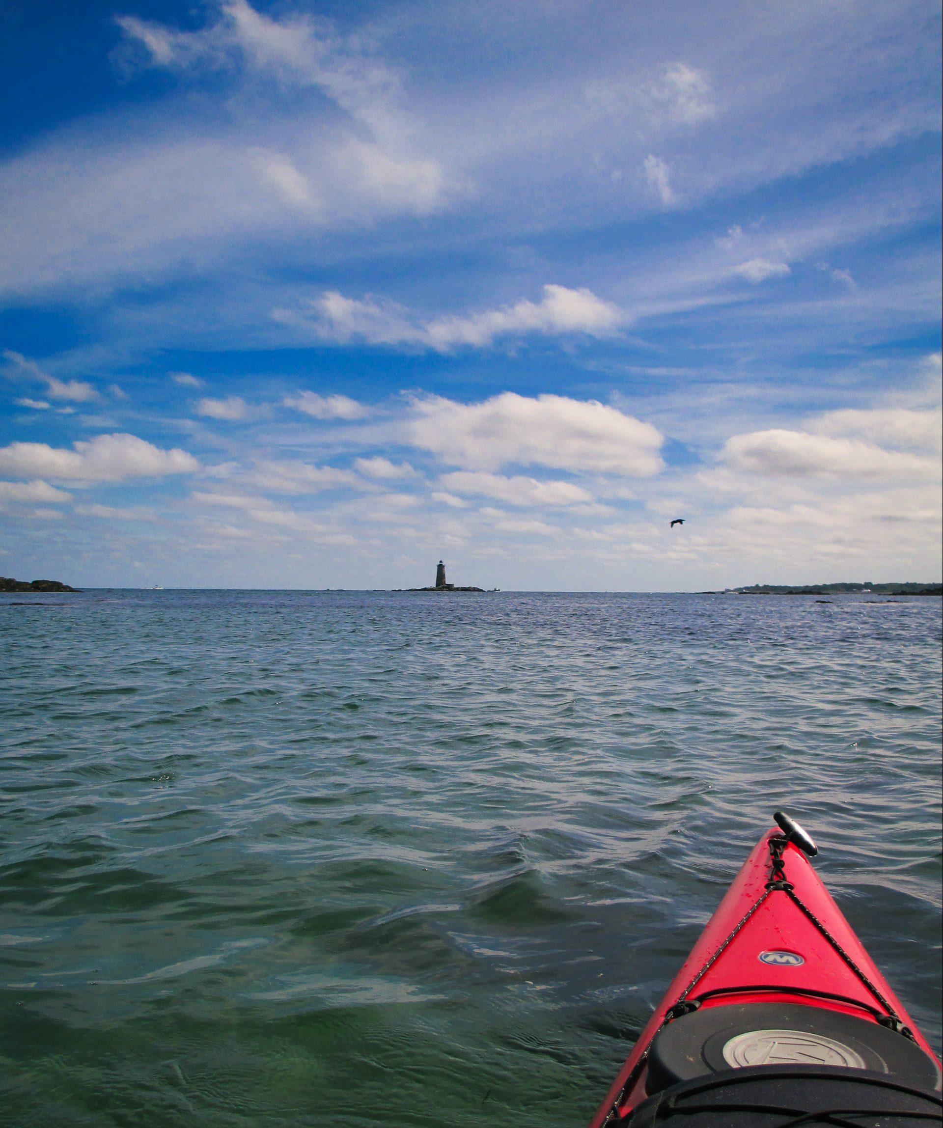 Kayaking-Whaleback-Light-View